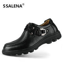 Big Size 38-47 Men Dress Shoes High Quality Casual Leather Shoes Men Fashion Business Shoes 2018 Male Oxfords B173