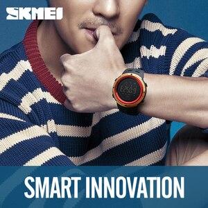 Image 4 - SKMEI Outdoor Sport Smart Watch Men Bluetooth Multifunction 5Bar Waterproof Digital Watch Men For Android IOS reloj hombre 1250