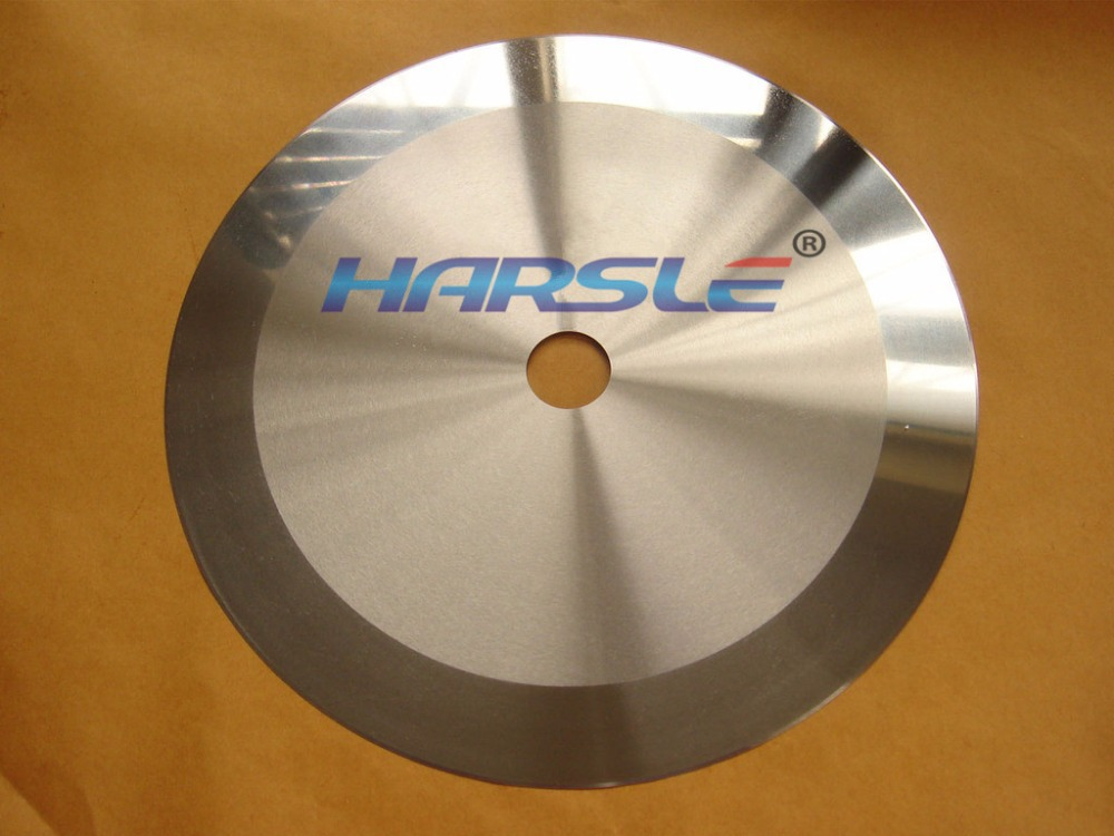Rotary Round Knife Paper Nonwovens Cutting Blade For