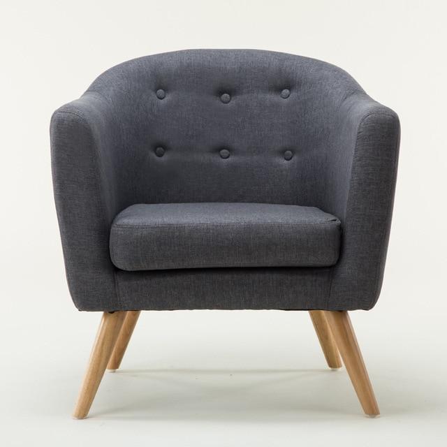 Mitte Des Jahrhunderts Modernen Stil Sofa/Liebe Sitz Mit Holz Beine  Wohnzimmer Möbel Einzel Couch