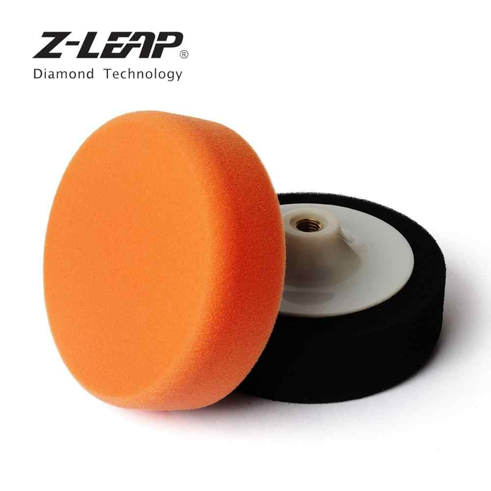 Z-LEAP 6inch Auto Car Polishing Pad Sponge Buffing Wheel For Car Polisher Buffer Waxing M14 M16 Thread Power Tools Accessories