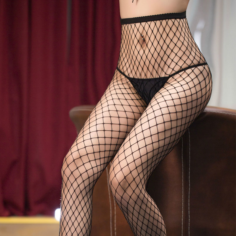 New Fashion Women Sexy Open Crotch Pantyhose Stocking Sexy Lingerie Underwear Womens Crotchless Tights Fishnet Stockings C5021
