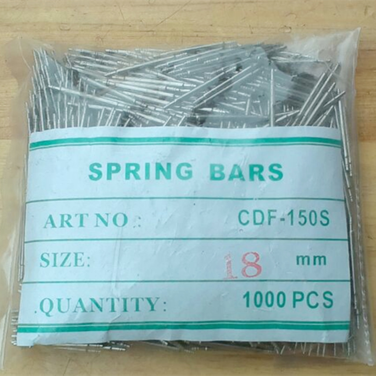 1000pc/pack 1.5mm Diameter Semi-stainless Steel  Spring Bars Strap Changing Pins Watch Pin 18 20 mm m1 5 8 25mm 1pcs watch band spring bars strap link pins repair tool watchmaker stainless steel watch accessories kit set