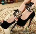 Discoteca superfino con 14 cm sexy arrastre sandalias de boca de los pescados de tacón alto de los zapatos de moda zapatos de las mujeres es cómodo