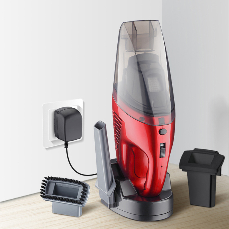 Dry and wet car wireless handheld vacuum cleaner home charging portable vacuum cleaner car giftsDry and wet car wireless handheld vacuum cleaner home charging portable vacuum cleaner car gifts