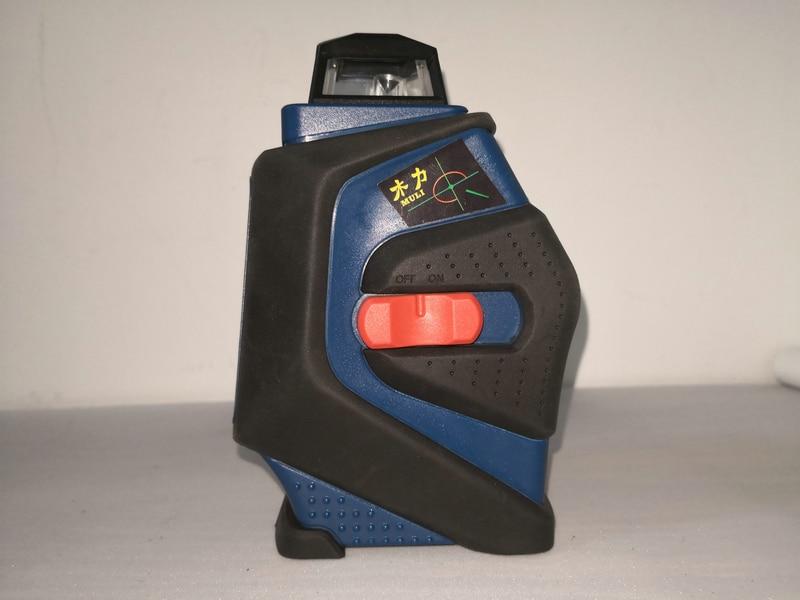 Niveau Laser Infrarouge 5 Ligne Automatique Horizontal Oblique 360 Degrés Horizontal et Vertical AA Batterie Petit et Portable