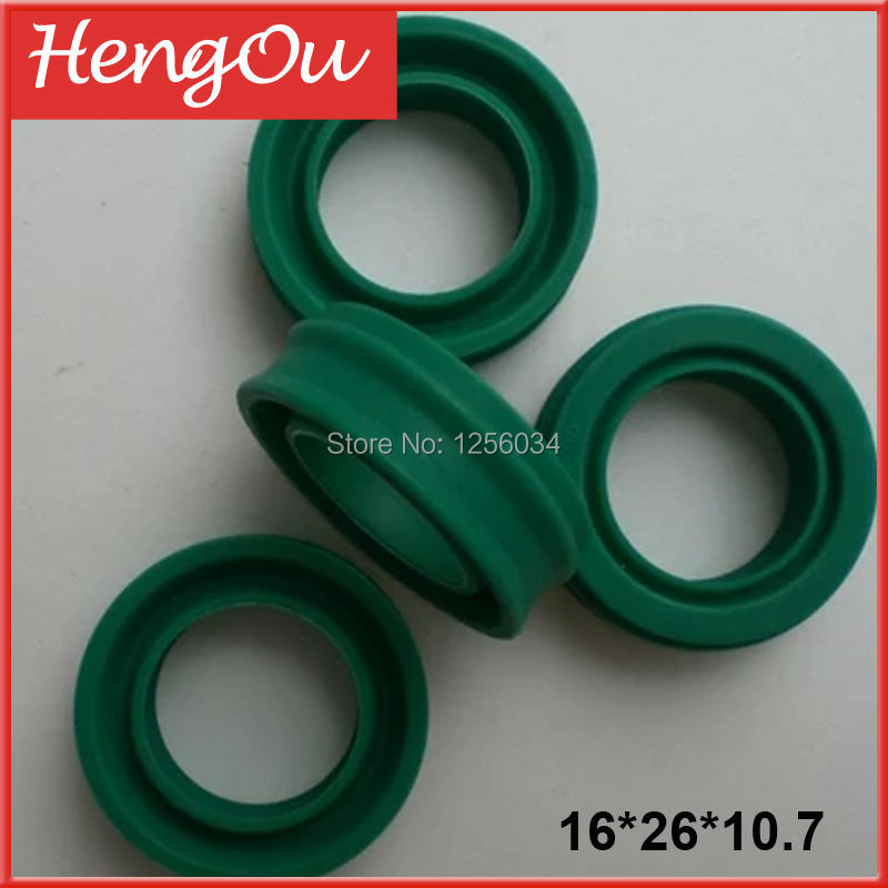 1 piece high quality Heidelberg cylinder seal, heidelberg cylinder valve seal 16*26*10.7, green rubber piston