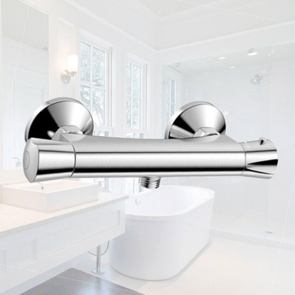 Barre thermostatique de Valve de mélangeur de douche pour le robinet fixé au mur de douche de salle de bains contrôle Constant de température