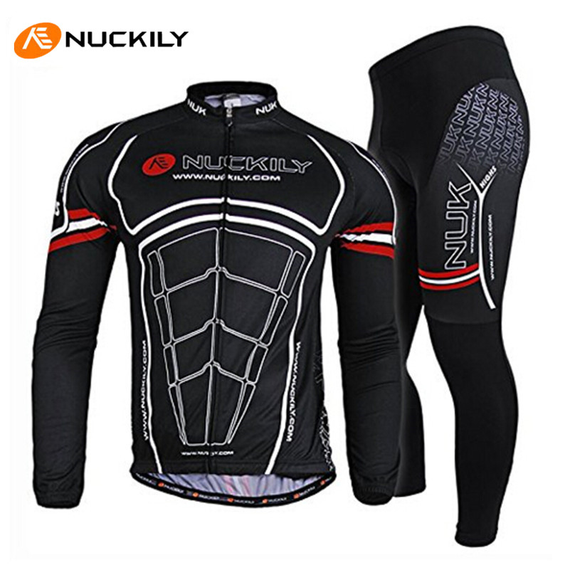 NUCKILY Pro Folding MTB Road Bike Clothing 3D Gel Padded Bike Pants Sunscreen UV Outdoor Sports Bike Bicycle Cycling Jersey Sets korting hk 62001 b
