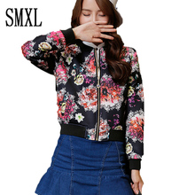 smxl baseball jerse HOT 2017Winter Women Jackets Slim Coat Parka Female Solid Outwear short spring new style casual shirt sleeve