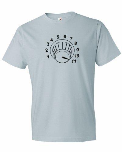 Новая Мода мужская Регулятор Громкости До Одиннадцати 11. футболка