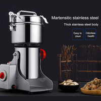700g Grains Spices Cereal Grinder for Coffee Dry Food Grinder Mill Grinding Machine Gristmill Home Medicine Flour Powder Crusher