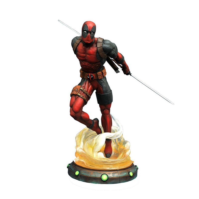 New 27 cm Deadpool Figurine PVC Action Figure Toy Doll Collection Model Kids Adult Gift pop figurine collection toy figure model doll