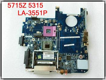 Placa base LA-3551P para portátil Acer 5715Z 5315, ICL50, LA-3551P, MBAKM02001, prueba...