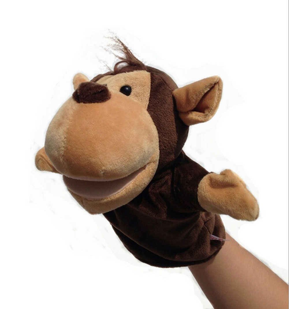 Muppet Gifts Cute Animal Dog Novelty Monkey Children Puppet Animal Toy Puppet