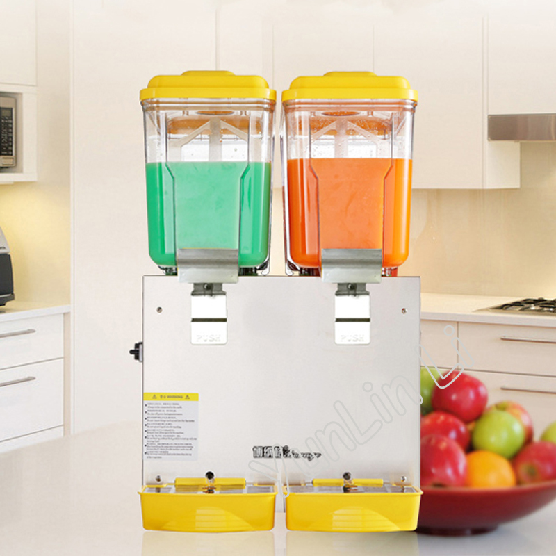 30L Double Cylinder Cold and Hot Drink Machine Beverage Dispenser Juice Dispenser for Milk Tea Shop PL-230C t handle vending machine pop up tubular cylinder lock w 3 keys vendo vending machine lock serving coffee drink and so on