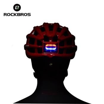 ROCKBROS Cycling Helmet Bike Ultralight Helmet With Light Integrally-molded Mountain Road Bicycle Helmet Safe Men Women 57-62cm 1