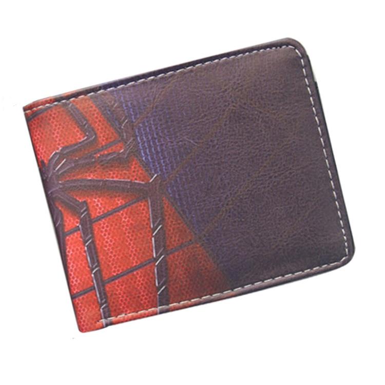 Marvel series spider man movie The Amazing Spider-Man Venom Wallet Purse soft short animation students purse the superior spider man volume 3 no escape