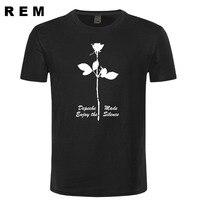 Depeche Mode Enjoy The Silence Electronic Music Mens Men T Shirt Tshirt Fashion New Cotton T