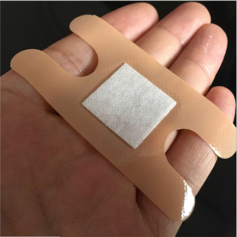 20 Pcs Band Aid Hemostasis Adhesive Bandages Waterproof Antibacterial Band-Aid H Type Butterfly Shaped First Aid Emergency Kit