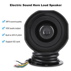 Alarm Siren Sound-Horn Loud-Speaker Playback-Sd-Card Electronic MP3 Truck IP65 Support