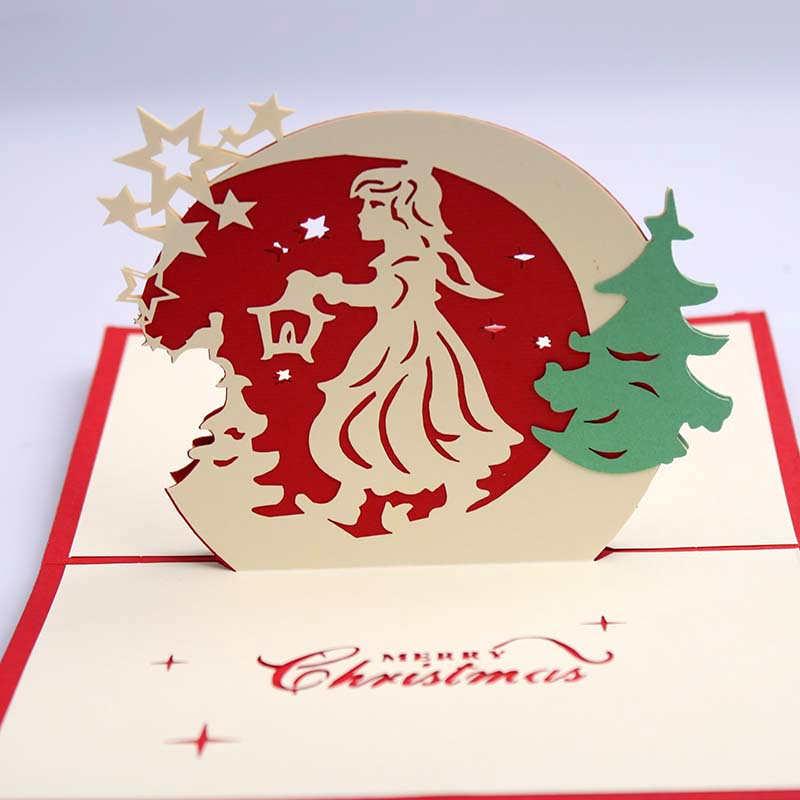 doreenbeads d tarjeta de navidad bendicin ngel para los nios adultos empleado amantes de la escultura