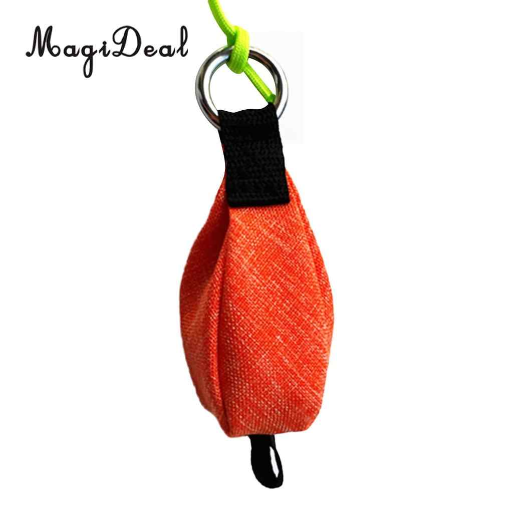 350g Throw Weight Bag for Tree Climbing Rigging Arborist Throw Rope Orange
