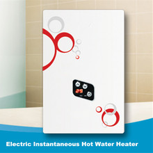 Electric Tankless Continuous Water Heater tap for Bathroom Shower Kitchen sink Faucet wash basin Instantaneous hot water supply