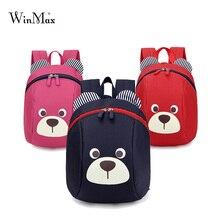 Edad 1-3 Niño anti-perdida mochila niños del bolso del bebé animal lindo perro niños de kindergarten mochila escolar oso bolsa mochila escolar