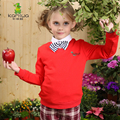 Kamiwa 2016 Baby Kids Girls T Shirts Teen Cotton Spring Autumn Long Sleeve Red Coat Casual Tops Children's Clothing Kids Clothes
