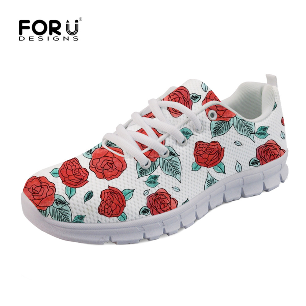 Automne Femelle Les Roses Aq Dames Appartements De Femmes Custom hk5712aq Mode Respirant 3d Maille Chaussures Pour Femme Run Sneakers Forudesigns waqWgpOa