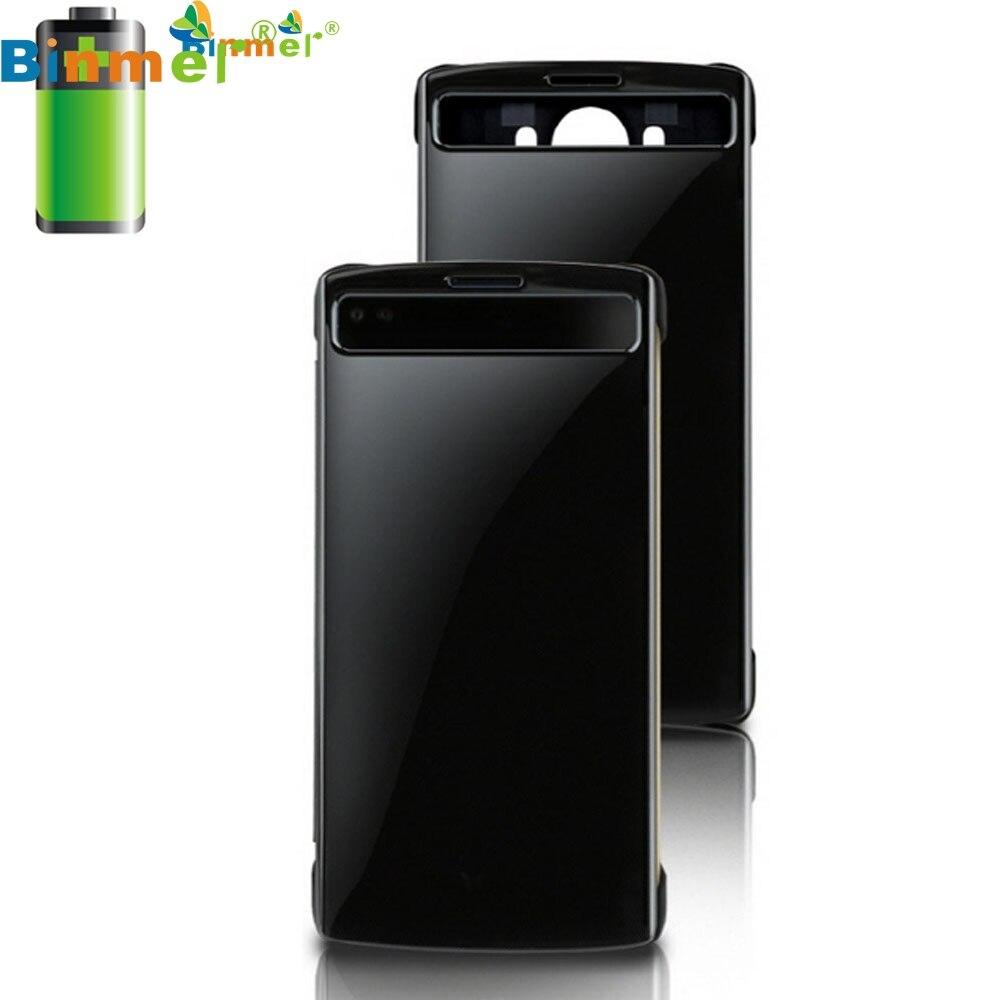 Nueva llegada de calidad superior Ventanas Smart Sleep Funda de cuero Qi carga inalámbrica NFC para LG V10 Aug 31 en   de   en AliExpresscom  Alibaba Group