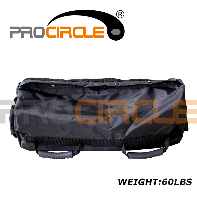 цена на ProCircle 60LBS Adjustable Punching Bag for Fitness Training Boxing Power Sand Bag with Straps High Quality
