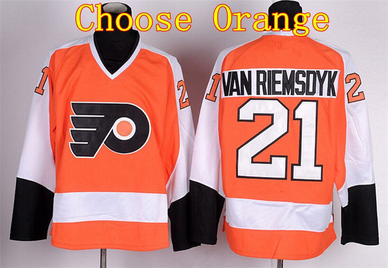 ... top quality production discount ice hockey 21 james vanriemsdyk  philadelphia flyers jerseys winter ... e3e3a424a