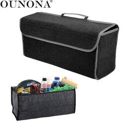 OUNONAcSoft Storage Box Trunk Bag Travel Storage Organizer Holder Car Accessories