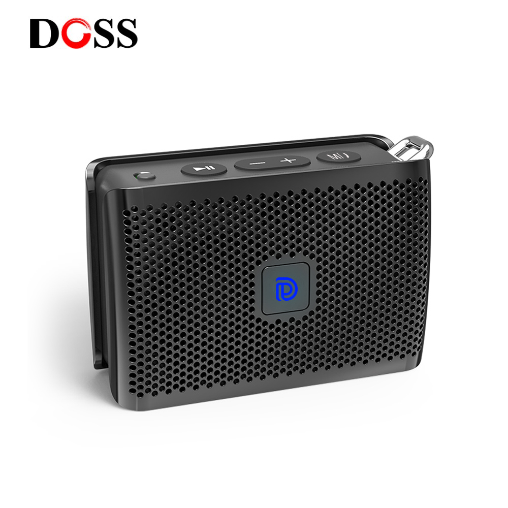 DOSS Genie Portable Bluetooth Speaker IPX4 Mini Wireless Loudspeaker Stereo Clean Sound Box with Built-in Mic for Gift PresentDOSS Genie Portable Bluetooth Speaker IPX4 Mini Wireless Loudspeaker Stereo Clean Sound Box with Built-in Mic for Gift Present