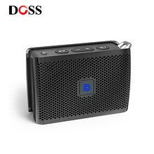 DOSS Genie Portable Bluetooth Speaker IPX4 Mini Wireless Loudspeaker Stereo Clean Sound Box with Built-in Mic for Gift Present(China)