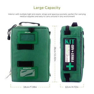 Image 3 - Handy First Aid Kit Bag Lightweight Emergency Medical Rescue Bags For Home Outdoors Car Travel School Hiking Survival