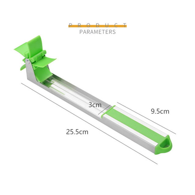 Watermelon Slicer Cutter Tongs Corer Fruit Melon Stainless Steel Tools NEW Watermelon Cut Refreshing Watermelon Cubes Kitchen 4