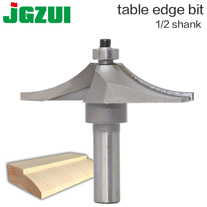 1/2 Shank Router Bits For Wood Tungsten Carbide Cutter Bit Arden Table Edge Router Bit Prrofessional Grade Woodworking Tools 1pcs large bowl router bit 1 2 shank cnc woodworking tungsten carbide horse nose bit router bits woodworking tools