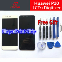 Huawei P10 LCD Display Touch Screen 100 New FHD 5 1inch Digitizer Assembly Replacement For Huawei