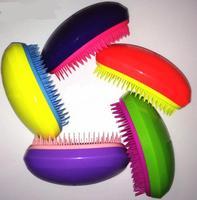 10 Pcs Lot Portable Bright Colors Anti Static Hair Styling Comb Hair Brush Comb Detangler Hair