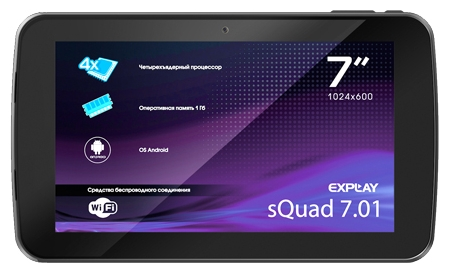 7inches for the Explay sQuad 7.01 tablet capacitive touch screen panel digitizer glass replacement explay для смартфона explay craft
