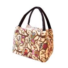 Tote Picnic Lunch Cool Bag Cooler Box Handbag Pouch Women Oxford fabric Zipper Home & Garden Lunch Bag Special design Z1128(China)
