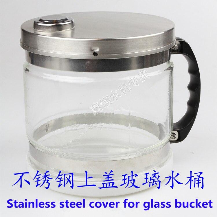 Draagbare Roestvrij Staal Water Distiller Pure Water Filter Waterzuiveraar distilleerder filter behandeling lab & ziekenhuis - 4