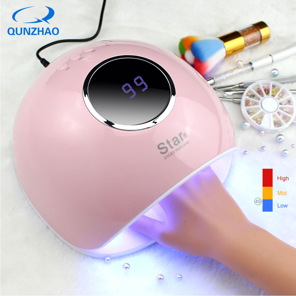 Star5 Lamp For Gel Varnish 72W Ice Lamp UV Led Lamp 33 LEDs Smart Lamp Nail