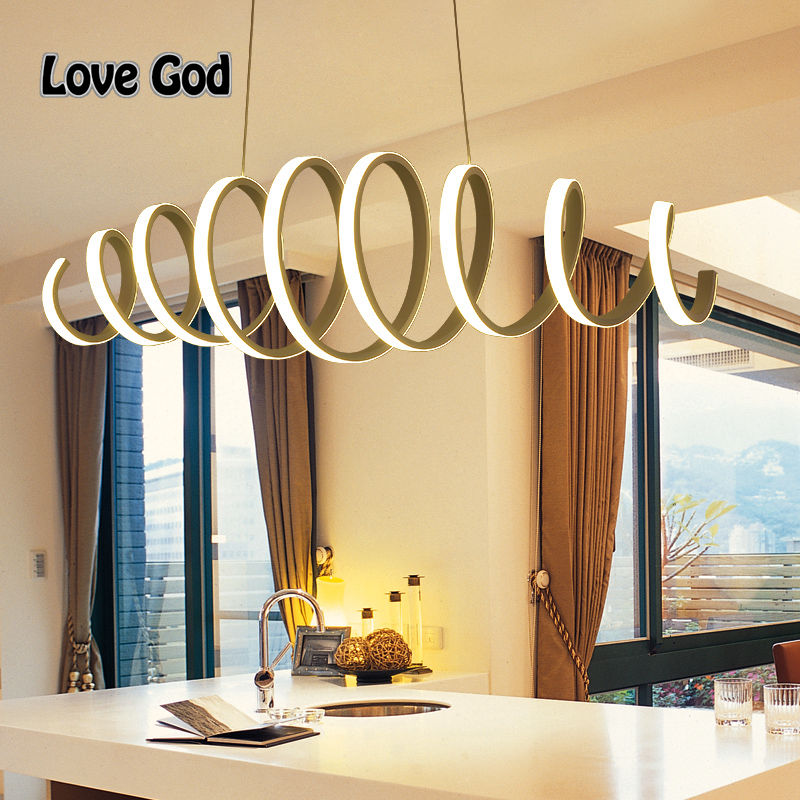Hanging Dining Room Light: L100cm 70cm New Creative Modern LED Pendant Lights Hanging