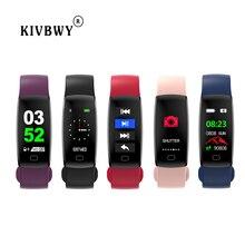 kivbwy Fitness bracelet Heart rate Smart band IP68 Waterproof Blood pressure oxygen Activity tracker GPS smart watch все цены