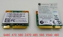 Новый wi-fi Bluetooth3.0 беспроводной карты для Atheros AR5B195 ( AR9002WB-1NG ) AR9285 половина мини-pci-e для lenovoG470 G480 G485 G580 V560