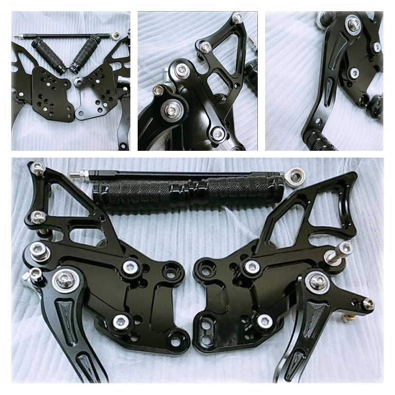 8 Colors For Kawasaki NINJA 300R EX300 2013-2016 2014 2015 CNC Rearsets Motorcycle Footpeg Brake Shift Set EX 300 R Foot Pegs